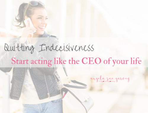 Quitting Indecisiveness