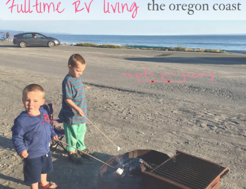 RV fulltime living ~ the oregon coast